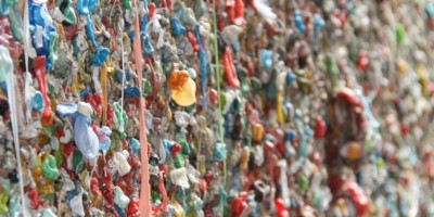Is chewed bubble gum compostable?